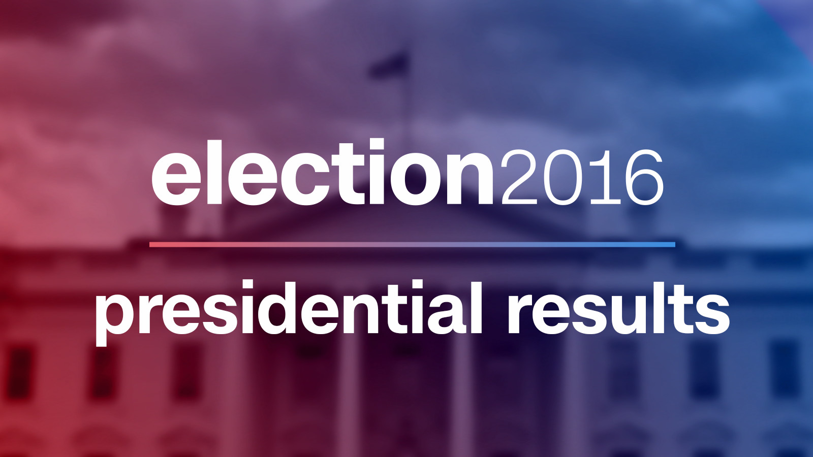 Presidential Election Results - Final us electoral map and vote count