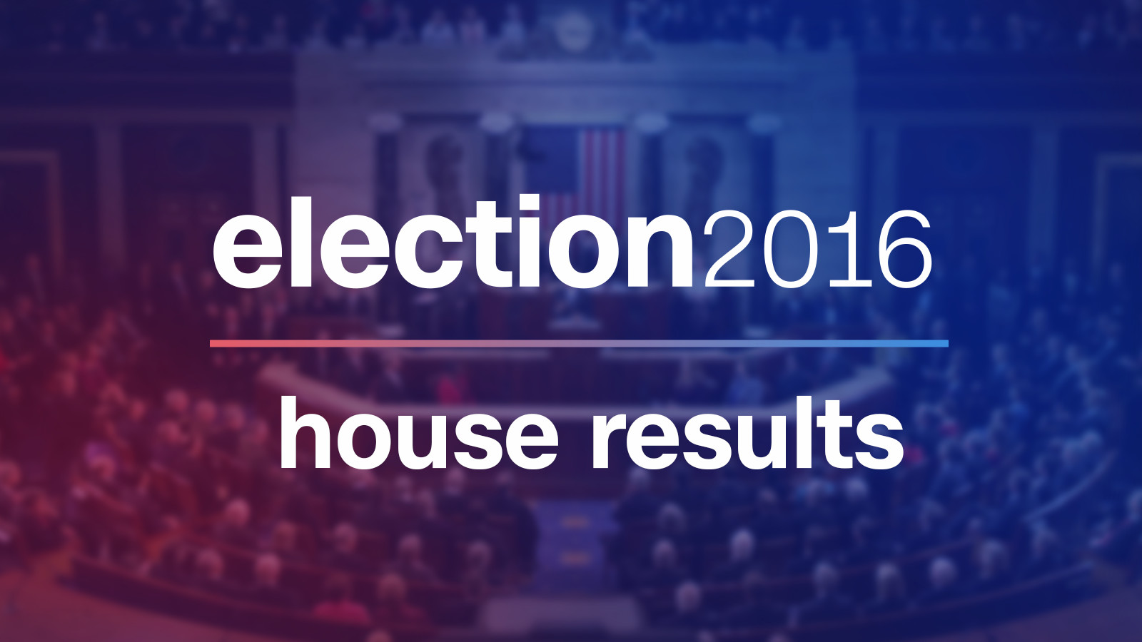 House Election Results 2016