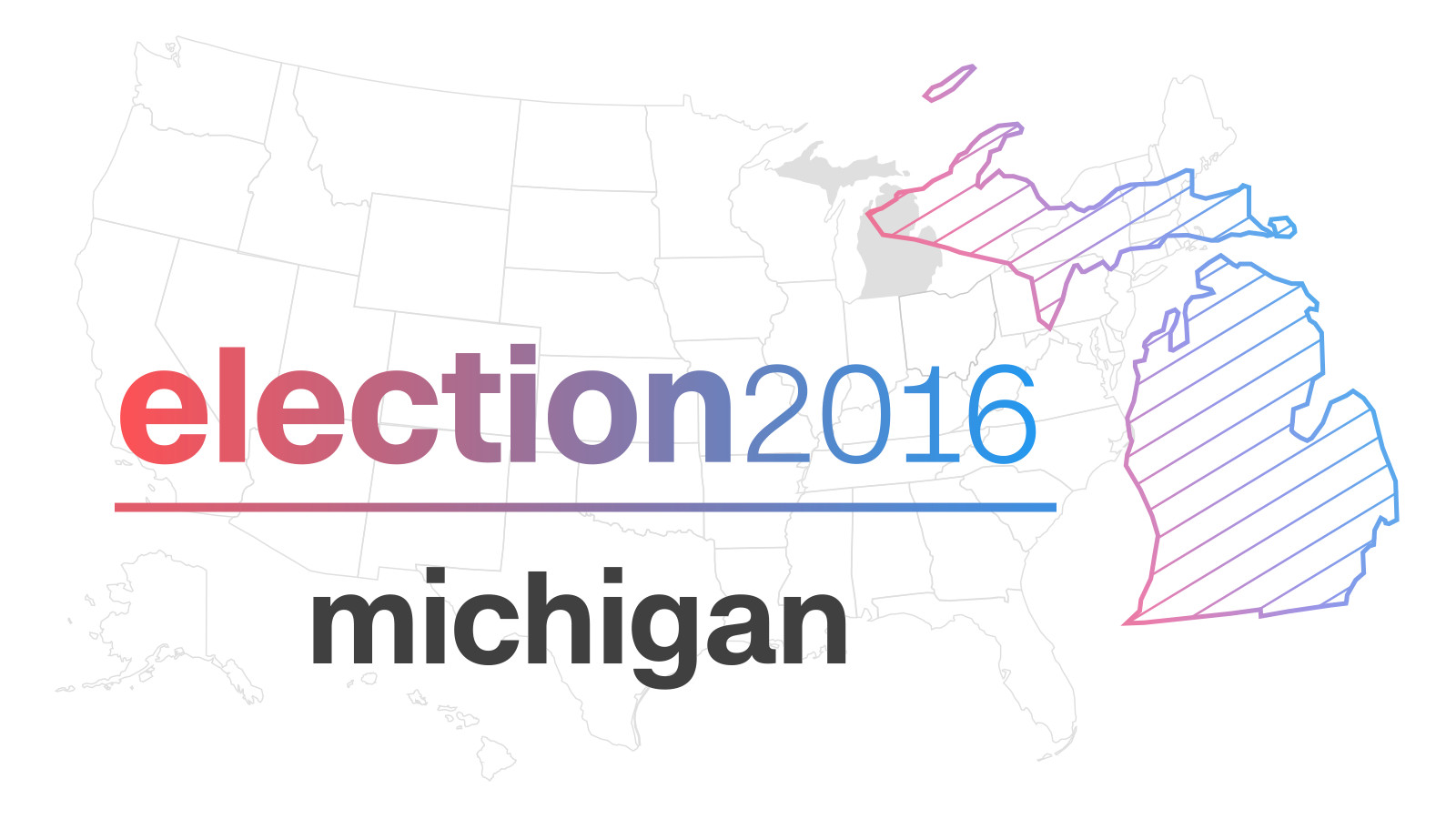 Michigan Election Results 2016