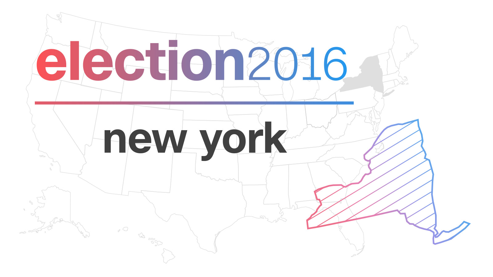 new york election results 2016. Black Bedroom Furniture Sets. Home Design Ideas