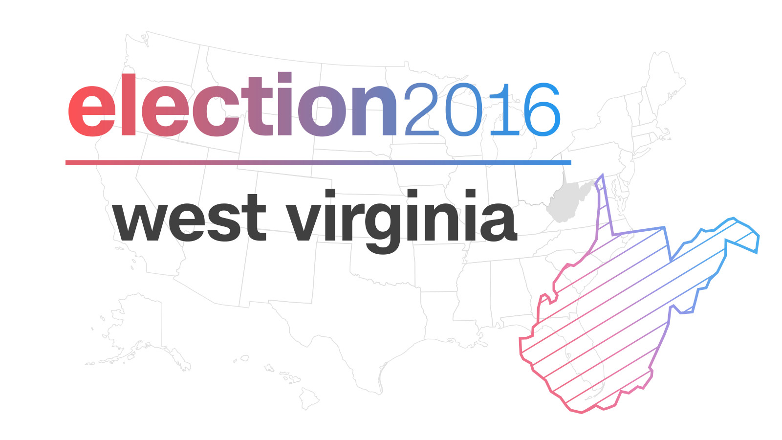 West Virginia Election Results 2016